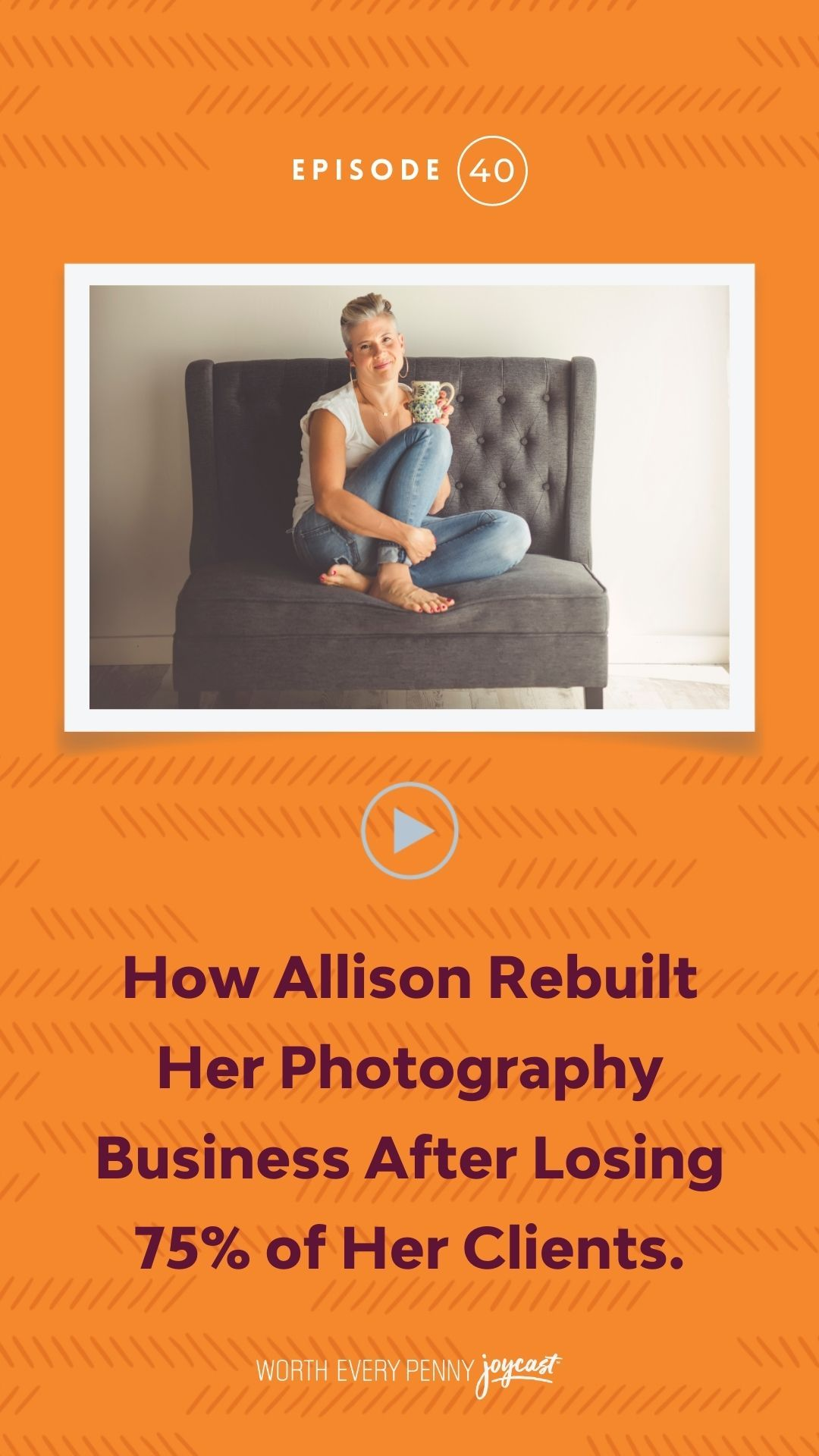 how to rebuild your photography business podcast
